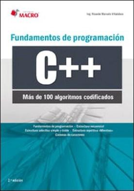 Fundamentos de programación C++ (100 algoritmos codificados)