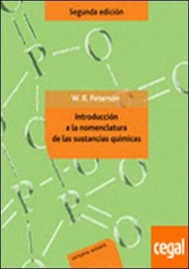 Introducción a la nomenclatura de las sustancias químicas . (2ª ed. original)