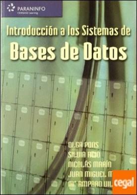 Introducción a los sistemas de bases de datos por ACID CARRILLO, SILVIA