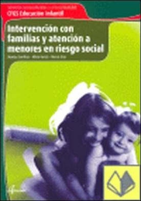 Intervención con familias y atención a menores en riesgo social . SERVICIOS SOCIOCULTURALES Y A LA COMUNIDAD