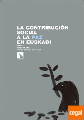 La contribución social a la paz en Euskadi