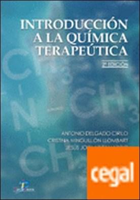 Introducción a la química terapéutica.