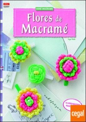 Flores de macramé . 15 proyectos paso a paso