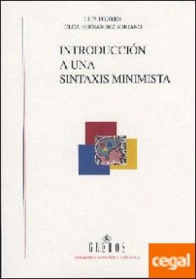 Introduccion a una sintaxis minimista