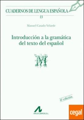 Introducción a la gramática del texto en español (M)