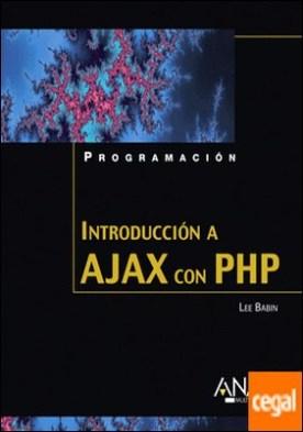 Introducción a Ajax con PHP