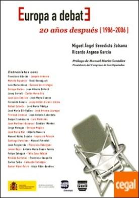 EUROPA A DEBATE . . 20 años después (1986-2006)