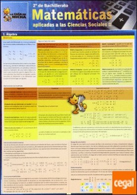 La guía de Micha, matemáticas aplicadas a las ciencias sociales, 2 Bachillerato por Díaz Nieto, María R.