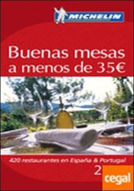 Guía Michelin Buenas mesas a menos de 35 euros