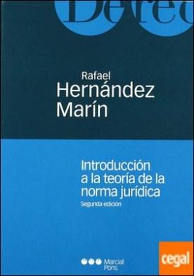 Introducción a la teoría de la norma jurídica