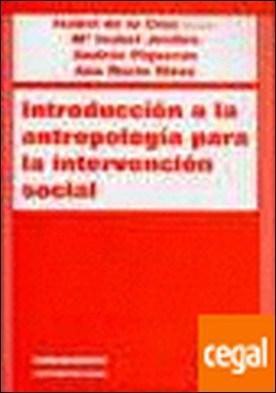 Introducción a la antropología para la intervención social