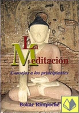 La Meditación -Consejos a los principiantes-