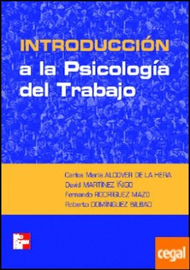 INTRODUCCION A LA PSICOLOGIA DEL TRABAJO