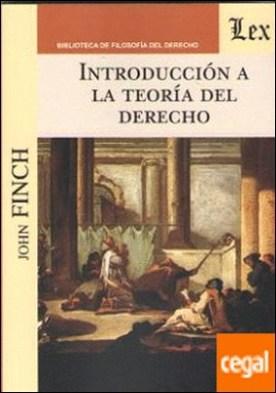 INTRODUCCION A LA TEORIA DEL DERECHO por FINC, John PDF