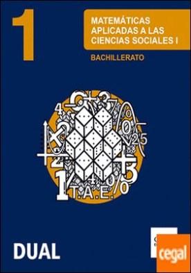 Inicia Matemáticas aplicadas a las Ciencias Sociales 1.º Bachillerato. Libro del alumno