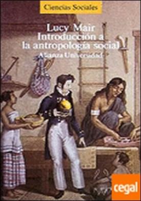 Introducción a la antropología social