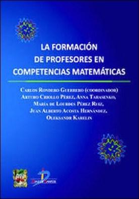 La formación de profesores en competencias matemáticas