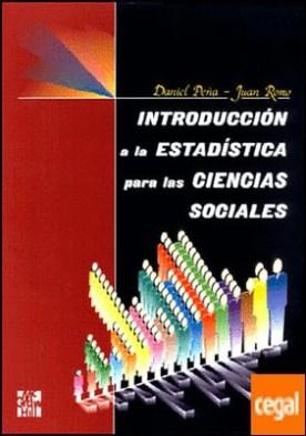 INTRODUCCION A LA ESTADISTICA PARA LAS CIENCIAS SOCIALES
