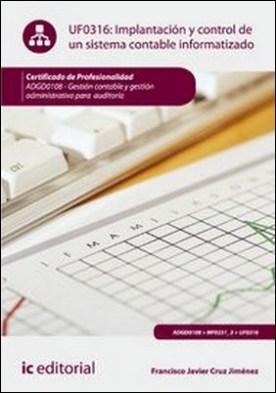 Implantación y control de un sistema contable informatizado