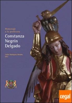 Homenaje a la profesora Constanza Negrín Delgado
