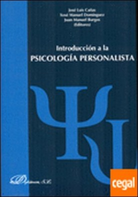 Introduccion a la Psicología Personalista por Cañas Fernández [et al.], José Luis PDF