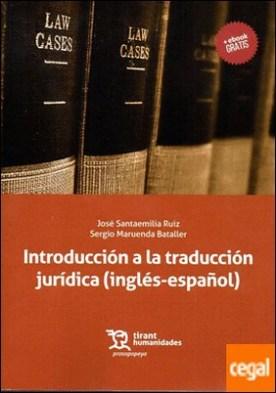 Introducción a la traducción jurídica (inglés-español)
