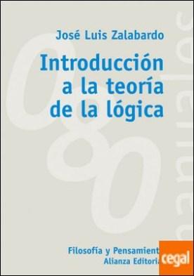Introducción a la teoría de la lógica