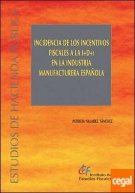Incidencia de los incentivos fiscales a la I+D+i en la industria manufacturera española