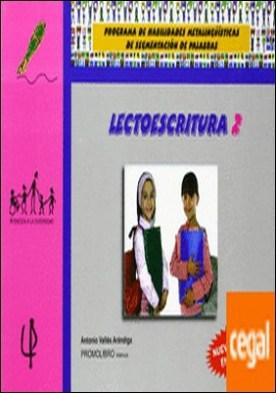 Lectoescritura 2 . Programa habilidades metalingüísticas segmentación de palabras