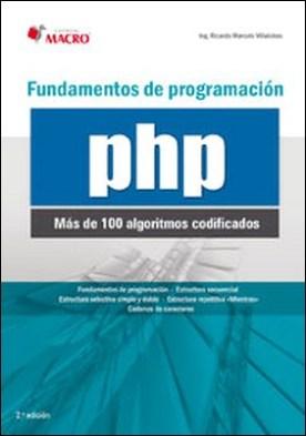 Fundamentos de programaciónn PHP (100 algoritmos codificados)