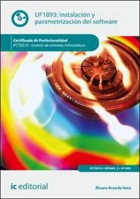 Instalación y parametrización del software