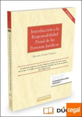 Introducción a la responsabilidad penal de las personas jurídicas (Papel + e-book)
