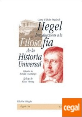 Introducciones a la Filosof?a de la Historia Universal