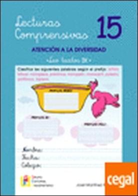 Lecturas comprensivas, 15 . ATENCION A LA DIVERSIDAD