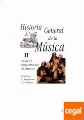 Historia General de la Música II