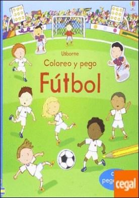 Futbol coloreo y pego