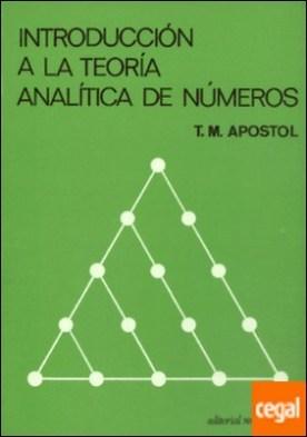 Introducción a la teoría analítica de números