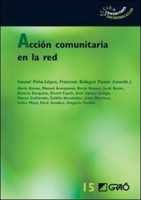Acción comunitaria en la red por Jordi Bonet Martí Beatriu Busquets PDF