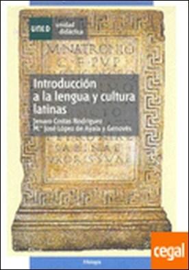 Introducción a la lengua y cultura latinas