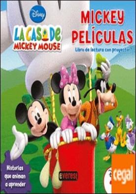 La casa de Mickey mouse. Mickey películas. Libro de Lectura con proyector . Historias que animan a aprender