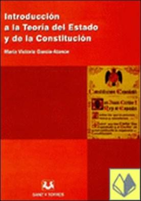 Introducción a la teoría del derecho y de la Constitución por García-Atance y García de Mora, María Victoria PDF