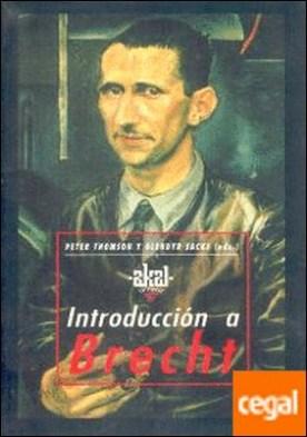 Introducción a Brecht