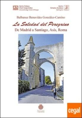 LA SOLEDAD DEL PEREGRINO. DE MADRID A SANTIAGO, ASIS Y ROMA por BALBANUZ BENAVIDES GONZALEZ, CAMINO PDF
