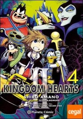 Kingdom Hearts II nº 04/10 (nueva edición)