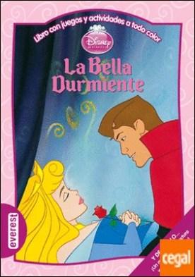 La Bella Durmiente . Libro con juegos y actividades a todo color