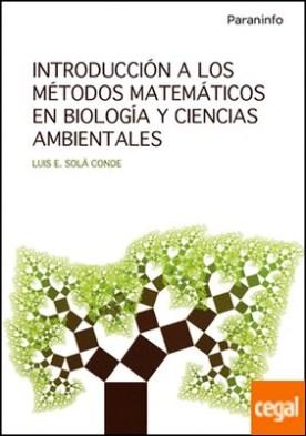 Introducción a los métodos matemáticos en biología y ciencias ambientales