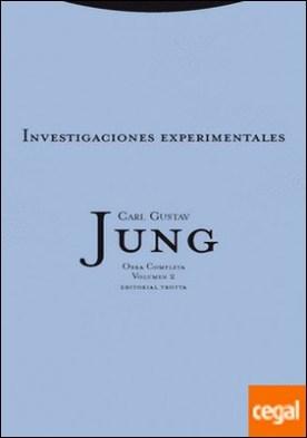 Investigaciones experimentales . Obra Completa Vol. 2. por Jung, Carl Gustav