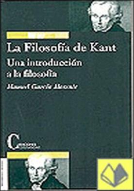 La Filosofía de Kant . una introducción a la filosofía