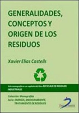 Generalidades, conceptos y origen de los residuos. Reciclaje de residuos industriales