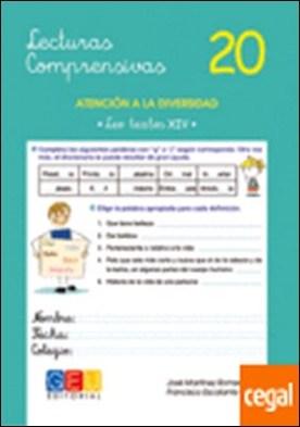 Lecturas comprensivas 20 . Atención a la diversidad